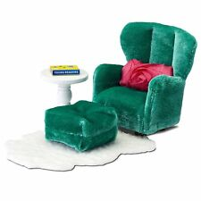 LUNDBY™ 60.2093 smaland Sessel mit Schemel für Puppenhaus 1:18