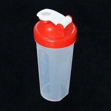 600ml Cup BPAfree Shake Protein Blender Shaker Mixer Drink Whisk Ball Bottle