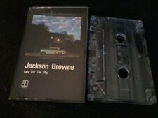JACKSON BROWNE Late For The Sky music cassette tape album POST FREE