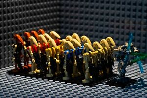 Star Wars Battle Droid Minifigure  Army Gift Kids Minifigures 21Pcs Custom Lego