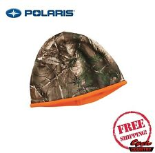 POLARIS BRAND REVERSIBLE CAMO BEANIE NEW SNOWMOBILE PRO RMK SKS INDY RZR