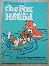 Fox Hound Disney~1981 Golden~Comic~