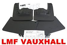 NEW RENAULT TRAFIC 2015 on FULL MUDFLAP SET 4 MUD FLAPS FRONT & REAR GENUINE
