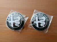 2 x Badge 74mm fits ALFA ROMEO GT Giulietta Mito 159 156 147  146 145 75 33