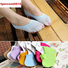 10 Pairs Colors Womens/Girls Liner Socks Invisible No Show Peds Boat Socks 5-8