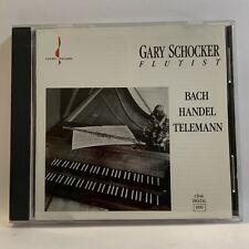 Gary Schocker - Bach Handel Teleman - Flute - Chesky CD