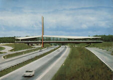 "Cartolina ANTICA-Confederazione-Autobahn-Ponti sosta casa ""Dammer montagne"" - Holdorf"