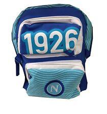 Zaino SSC Napoli Calcio 1926 45x33x23 Tifosi Borsa Spallacci Regolabili