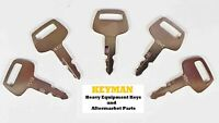 5 HD62 Ignition Keys for Hyundai Nagano Sunward Thomas Hitachi Heavy Equipment