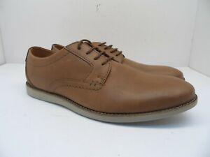 Clarks Men's Raharto Plain Lace Up Dress Shoe Tan Size 11M