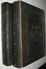 1881 The Poetical Works of Henry Wadsworth Longfellow. Illustrated (2 Volumes)