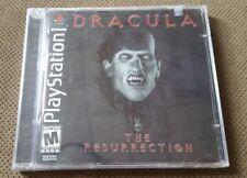 Dracula: The Resurrection (Sony PlayStation 1, 2001) NEW Factory Sealed ps1