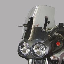 TIEFES Windschild Moto Guzzi Stelvio 1200 4V TRANSPARENT 515 mm