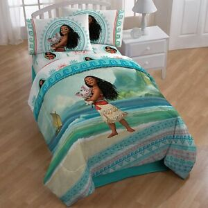 "Disney Moana ""The Wave"" 4pc Full Sheet Set"