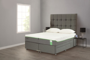 Double Tempur Divan Storage Bed base 4 Drawer RRP£700 free delivery !