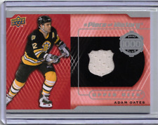 ADAM OATES 15/16 Upper Deck 1000 Point Club Piece of History Jersey PC-AO Card