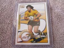2005 NRL Select Power Club Player of the Year Nathan Hindmarsh Eels NM/M