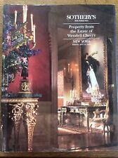 Sotheby's Property from Estate of Wendell Cherry 1994 Antiques Auction Catalogue