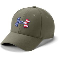 5bf435b916a Under Armour 1311427 OD Green Xl-xxl Freedom USA Flag Blitzing Baseball Cap  Hat