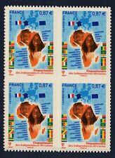 FRANCE AFRIQUE  bloc de 4 autoadhésifs N° 472 xx, TB