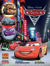 DISNEY PIXAR CARS 2 PANINI STICKER ALBUM WITH 6 FREE STICKERS BRAND NEW