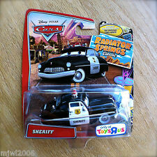 Disney PIXAR Cars SHERIFF on RADIATOR SPRINGS CLASSIC TOYS R US EXCLUSIVE rare