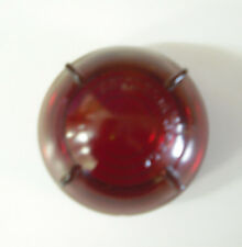 LANDROVER MILITARY - STOP TAIL RED GLASS LENS - 600858