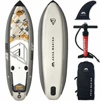 Aqua Marina Inflatable Drift SUP ISUP Stand Up Paddle Board Surf Angeln SET NEU