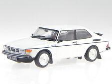 Saab 99 Turbo Prototyp 1977 weiss Modellauto 3898034 Atlas 1:43