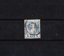 MONACO  prince Charles III     5c   bleu     num: 3   oblitéré