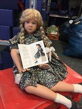 Ruth Treffeisen Puppe Geraldine 80 cm. ! Top Zustand !