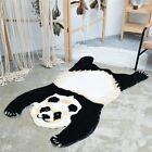 Faux Fur Animal Panda Print Rug Non Slip Mat Fluffy Carpet Home Decor 90X150CM