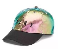 New Victoria's Secret PINK Bling Iridescent Sport Baseball Hat Cap Great Gift