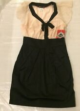 Trixxi Dress Size 5 Black And Pink Pencil Dress NWT