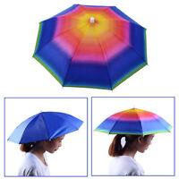 FJ- Fishing Hat Umbrella Foldable Anti-UV Visor Waterproof Cap Breathable Rainwe