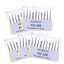50pcs Dentista Dental Diamond Burs Ceramics/Composite Polishing Kit FG-105
