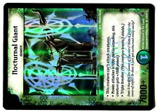 DUEL MASTERS PROMO HOLO N° L15/20 Y1 NOCTURNAL GIANT