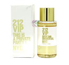 Carolina Herrera 212 Vip NYC Bath and Shower Gel 200ml Women Fragrances New