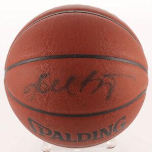 KOBE BRYANT AUTHENTIC Signed Full Size NBA Basketball PSA/DNA COA Lakers 8, 24