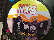 "INXS - Need You Tonight Mega Rare 12"" Picture Disc Maxi Single Japan Promo LP NM"