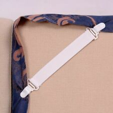 Bed Sheet Fastener Tape Elastic Sheet Strap Holder Blanket Pad Mattress Clip