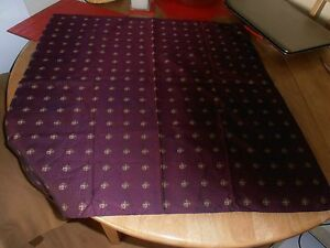 Vintage Purple with Coat of Arms  Pocket Square