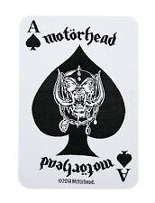 Motörhead Ace Kult Patch(SP2742) Motörhead Aufnäher Gewebt & Lizenziert