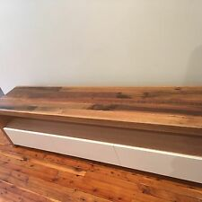 Australian Made Recycled Hardwood Timber Byron Tv Entertainment Unit