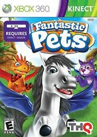 Fantastic Pets XBOX 360 KINECT NEW! CATS, DOGS, HORSE, DRAGON, FUN FAMILY GAME 0