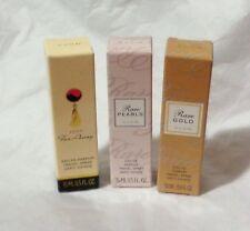 Avon lot of 3 Perfume Sprays FAR AWAY-RARE PEARLS-RARE GOLD-New in box-FREE SHIP