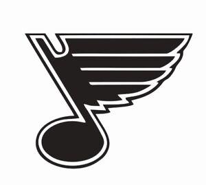 St. Louis Blues NHL Hockey Vinyl Die Cut Car Decal Sticker - FREE SHIPPING