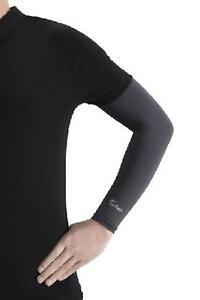 IceRays UV Arm Sleeves Pair 50+ Charcoal