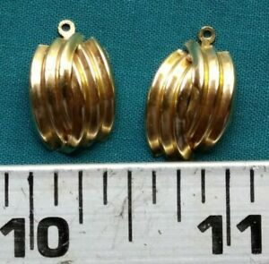 14 KT Yellow Gold Earring Jackets  #5415