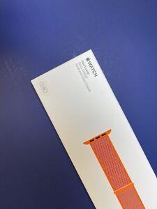 """Apple Watch 42mm Spicy Orange Sport Loop 100% Genuine Authentic """" Sealed """""""